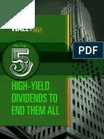 Top 5 High Yield Stocks