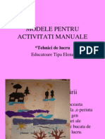 Modele Pentru Actv. Manuale