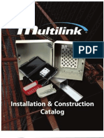 Multilink's Installation & Construction Catalog