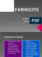 Makalah Faringitis