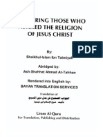 Answering those who altered the religion of Jesus Christ - Shaykh Al-Islam Ibn Taymiyyah