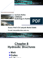 Hydraulic Structures Chap 8 - 12 June 2009