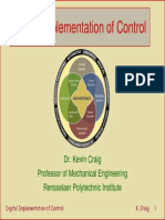 Digital Implementation of Control