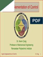 Digital Implementation of Control