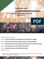 Pensamiento sobre Integración y Latinoamericanismo.pptx