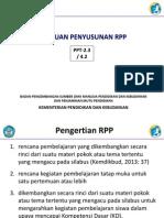 petunjuk menyusun RPP kur 2013