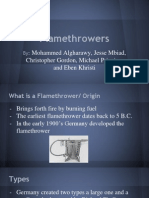 flamethrowers by eben mike chris jesse mohammed