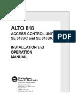 818 Manual