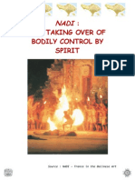 Nadi - The Taking Over of Bodily Control by Spirit