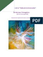 Tabla Esmeralda de Hermes Trismegisto.pdf