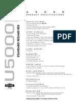 Wells Gardner U5000 manual