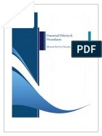 Financial Policies & Procedures Manual for CSOs