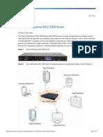 Cisco TelePresence MCU 5300 Series
