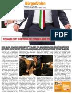 Bürgerblatt BürgerUnion Oktober 2014