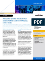 Expedient - Data Center Operator Uses Scalar Tape Libraries to Meet Customers' Changing Service Needs [CS00207A]