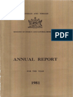 Annual Administrative Report 1981