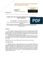 Fabrication and Analysis of Mechanical Properties of Frp Composites