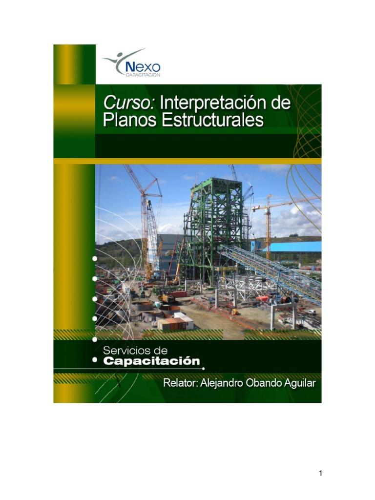 4 manual interpretacion de planos for Planos estructurales pdf