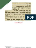 catequese - Ação de graças - Salmo 137(138)