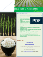 22nd October,2014 Daily Global Rice E-Newsletter by Riceplus Magazine