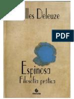DELEUZE, Gilles. Espinosa, Filosofia Prática