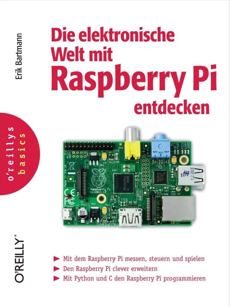 Die Elektronische Welt Mit Raspberry Pi Entdecken Erik Bartmannpdf Wiringpi Python Mcp3008