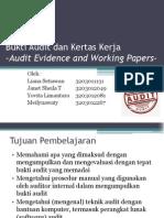 Chapter 10 - Bukti Audit Dan Kertas Kerja