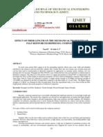 Effect of Fiber Length on the Mechanical Properties of Palf Reinforced Bisphenol Composites