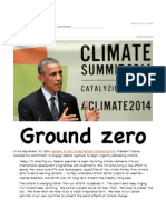 Ground Zero - Obama's Recommitment