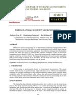 Fairing Flap Drag Reduction Mechanism Ffdrm