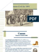 GUERRA CIVIL 1891.ppt