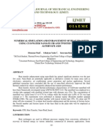 Numerical Simulation and Enhancement of Heat Transfer Using Cuo Water Nano Fluid and Twisted Tape