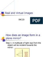 real and virtual images ppt