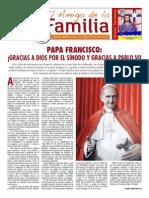 EL AMIGO DE LA FAMILIA DOMINGO 26 OCTUBRE 2014