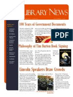 Library News October 2014