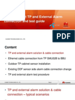TP and External Alarm Connection and Test Guide_ver.3.1_draft