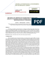 The Effect of Addition of Nanofillers on Three-body Abrasive Wear Behavior of Unidirectional