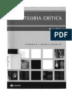 A Teoria Crítica - Marcos Nobre