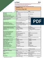 2014 Baja Design Spec Sheet
