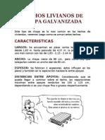 TECHOS LIVIANOS DE CHAPA GALVANIZADA.doc