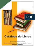 CATÁLOGO DE LIVROS