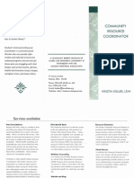 hudson community resource coordinator brochure