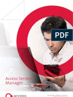 2009 Access Service Manager Brochure
