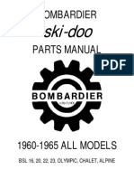 Bombardier Skidoo 1998-99 Electric Wiring Diagram ...