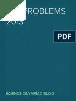 IAO 2013 Problems