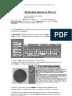 Zbrush Modelado y Texturizado Básico