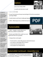 WEBNotes - Day 4 - 1920s - Changing Culture