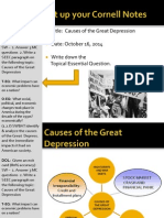 WEBNotes - Day 1 - 2014 - Causes of Great Depression
