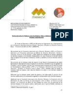Declaración de la OEA sobre la Violencia contra las Mujeres, Niñas y Adolescentes y sus Derechos Sexuales y Reproductivos