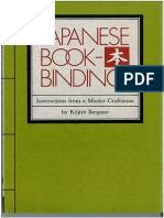 Japanese Book Binding